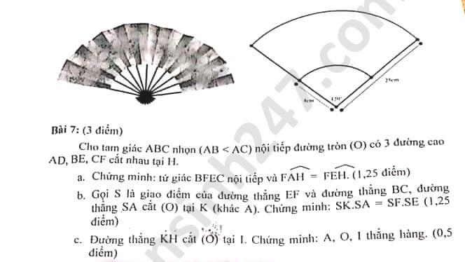 De thi hoc ki 2 THCS Dong Khoi nam 2020 mon Toan lop 9