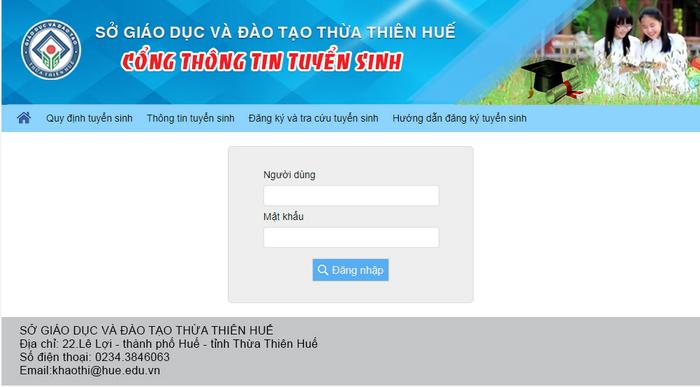 Diem thi vao lop 10 tinh Thua Thien Hue nam 2020