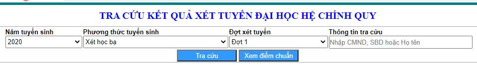 DH Y Duoc - DH Hue cong bo danh sach trung tuyen nam 2020