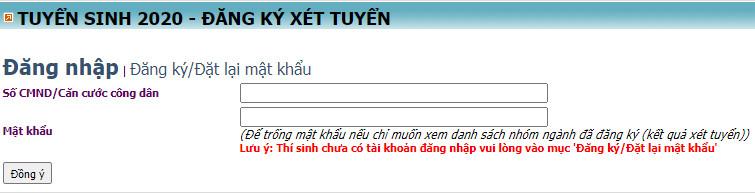 Tra cuu ket qua trung tuyen Hoc vien Nong Nghiep Viet Nam 2020