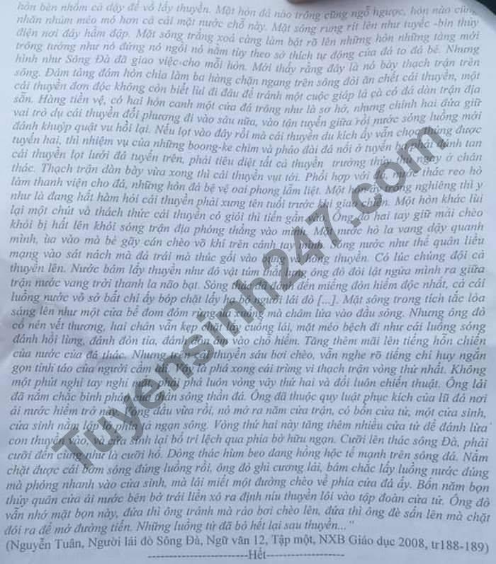 De thi thu tot nghiep THPT 2021 lan 1 THPT Ha Trung mon Van