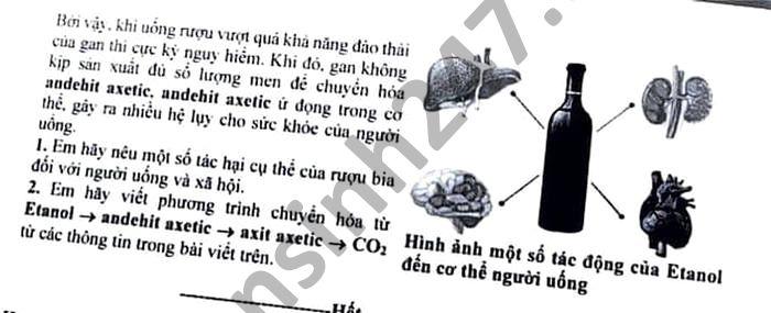 De thi chon hoc sinh gioi cap tinh THPT mon Hoa tinh Lao Cai 2021