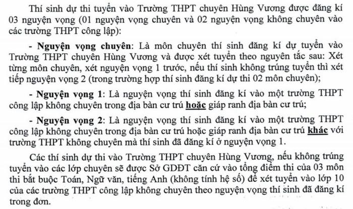 Thong tin tuyen sinh vao lop 10 tinh Binh Duong nam 2021 - 2022