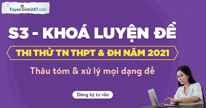 Bo GD cong bo De Minh Hoa tot nghiep THPT 2021 - Tat ca cac mon