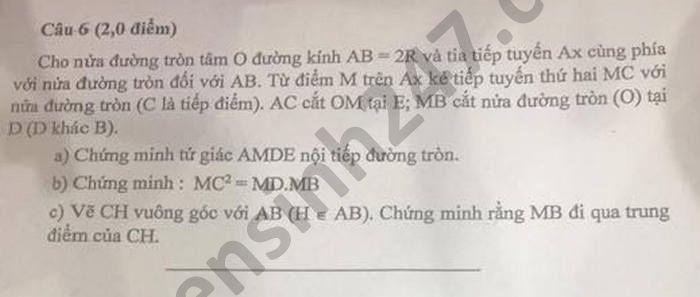 De thi thu vao lop 10 nam 2021 Phong GD TP Lao Cai mon Toan