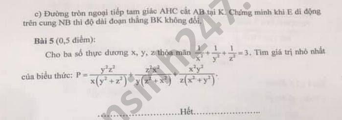 De thi thu vao lop 10 THCS Kim Dong mon Toan nam 2021