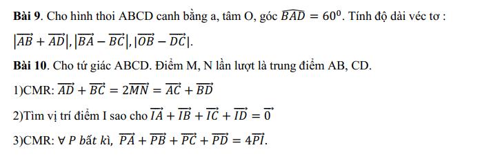 De cuong giua ki 1 mon Toan lop 10 - THPT Tran Phu 2021