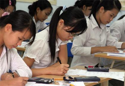Dap an de thi cao dang khoi A nam 2012