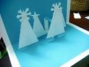 Những mẫu thiệp giáng sinh 3D cực xinh xắn