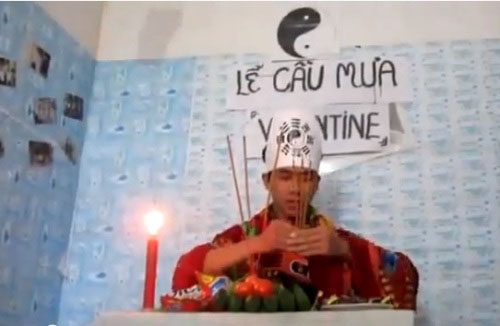 Hoi doc than voi cac chieu \'pha dam' Valentine