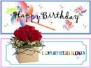 Tin nhắn hình chúc mừng sinh nhật dễ thương và độc đáo