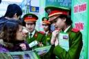 Tuyển sinh các trường Công an năm 2013: Hà Nội không hạn chế thí sinh nữ