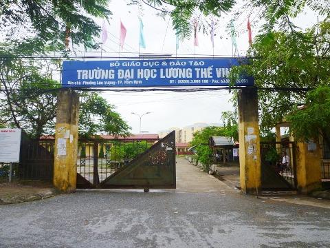 Ty le choi Dai Hoc Dan Lap Luong The Vinh