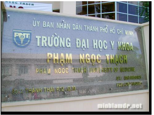 Ty le choi Dai Hoc Y Khoa Pham Ngoc Thach nam 2014