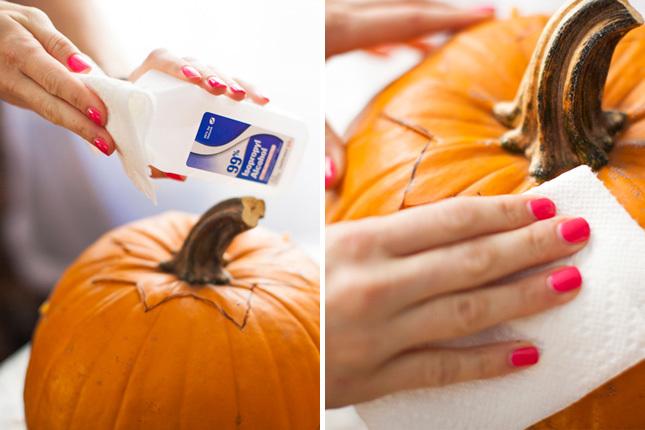 Cach lam den bi ngo don Halloween don gian nhat