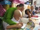 Lớp học đặc biệt của các bệnh nhi ung thư
