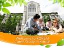 Cơ hội du học Hàn Quốc với học bổng Chính phủ năm 2014