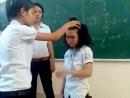 Giáo viên bắt học sinh tát nhau bị sa thải