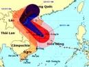 Tâm bão 14 có thể vào đồng bằng bắc bộ