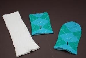 Huong dan lam nguoi tuyet handmade dep trang tri Giang sinh