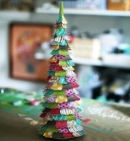 Cách làm cây thông Noel handmade cực đẹp