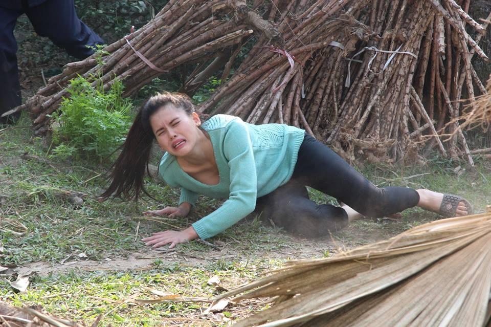 Cảnh trong phim lấy bối cảnh nông thôn Việt Nam