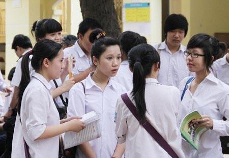 Tuyen sinh Dai hoc cao dang 2014 se thay doi cong diem uu tien