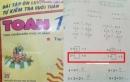 Bài toán học sinh lớp 1 khiến phụ huynh cũng phải chịu thua