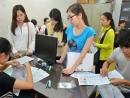 Hồ sơ đăng ký dự thi ĐH, CĐ năm 2014 Miền Bắc giảm 30%