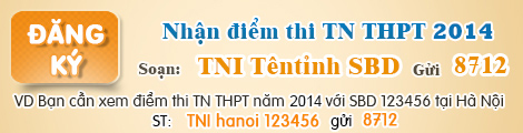 Dap an de thi tot nghiep mon Ly nam 2014 cua Bo GD&DT