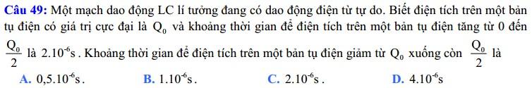 De thi thu dai hoc mon Ly khoi A,A1 truong THPT chuyen Vinh Phuc nam 2014 co dap an