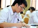 Thí sinh đang làm bài thi môn cuối của kì thi ĐH đợt I