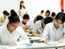 164.000 thí sinh đang làm bài thi Cao đẳng