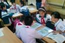 Thay thế sách giáo khoa bằng máy tính bảng cho học sinh tiểu học