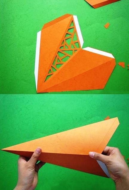 Cách làm đèn ông sao bằng giấy - 3
