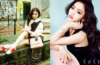 Xu huong thoi trang Han Quoc sanh dieu nhat cho thu dong 2014