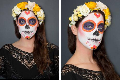 Hướng dẫn vẽ mặt nạ ấn tượng ngày Halloween - 10