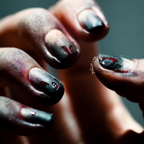"""Hình ảnh Gợi ý cho những bộ móng """"để đời"""" Halloween 2013 số 3"""