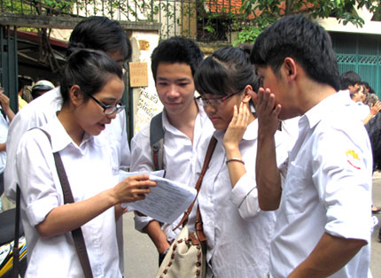So GD&DT Vung Tau huong dan to chuc thi hoc sinh gioi nam 2015