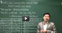 Ky thi THPT Quoc gia 2015 - CAC MOC THOI GIAN KHONG DUOC BO QUA