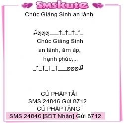 SMS kute chuc mung Giang sinh 2014 dep nhat