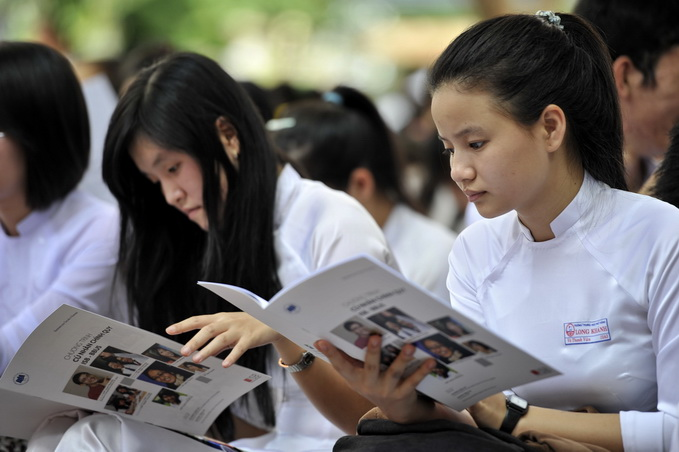 Chi tieu tuyen sinh Dai hoc Tien Giang nam 2015