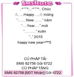 Tin nhan chuc tet 2015 hay va an tuong nhat
