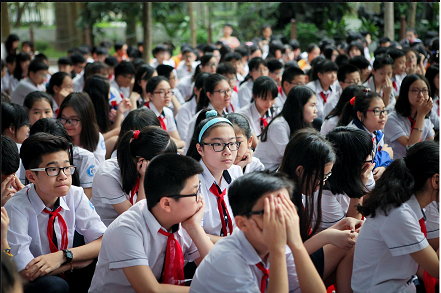 Tuyen sinh lop 6 2015 TP Ho Chi Minh