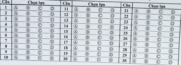 Huong dan lam bai khao sat tieng Anh vao lop 6 THPT Tran Dai Nghia 2015