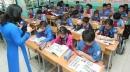 Đề thi cuối học kì 1 lớp 4 môn Tiếng Anh - TH B Yên Đông năm 2015