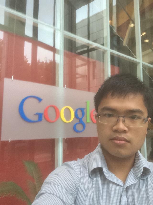 Phạm Hy Hiếu tại Google Mỹ