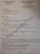 Đáp án đề thi vào lớp 10 môn Toán Đồng Nai năm 2016