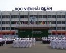 Học viện Hải quân công bố điểm chuẩn chính thức vào trường 2016