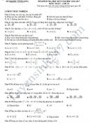 Đề thi học kì 1 môn Toán 10 - Sở GD&ĐT Vĩnh Long năm 2016-2017
